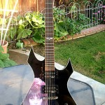 BC Rich ELVIRA Warlock guitar