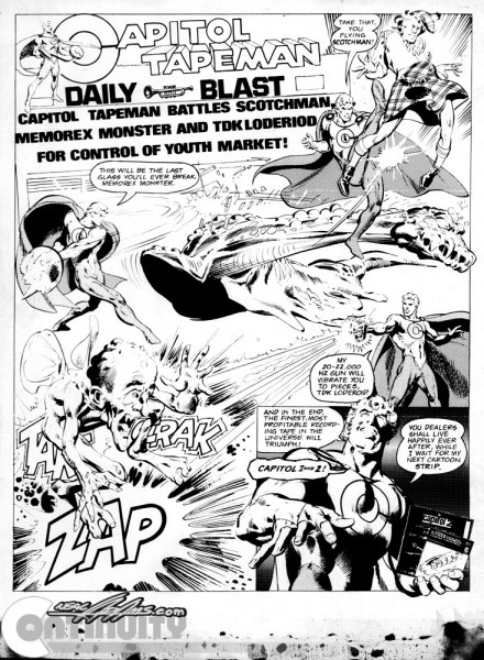 Capitol Tapeman, by Neal Adams