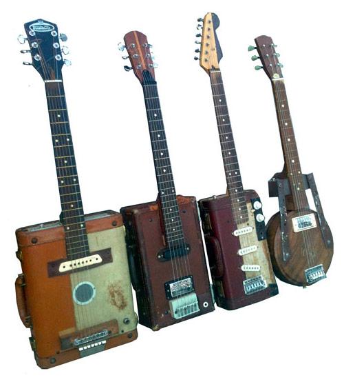 Guitarras de maletas, de Jeff Conley
