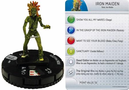 HeroClix: Iron Maiden