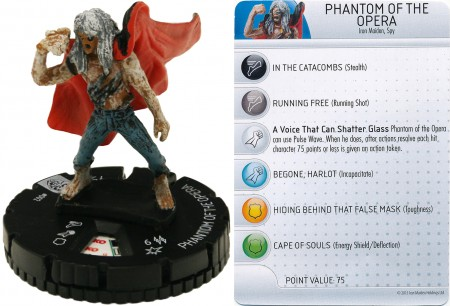 HeroClix: Phantom of the Opera