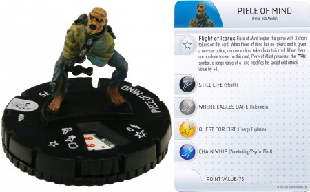 HeroClix: Piece of MInd