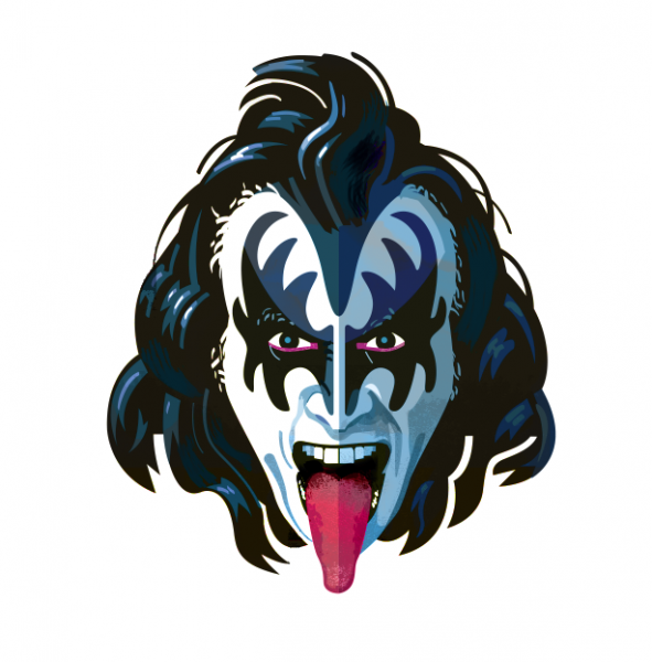 Gene Simmons, by Robert M. Ball