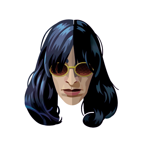 Joey Ramone, by Robert M. Ball