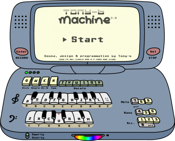 ♫ Tony-b Machine ♫
