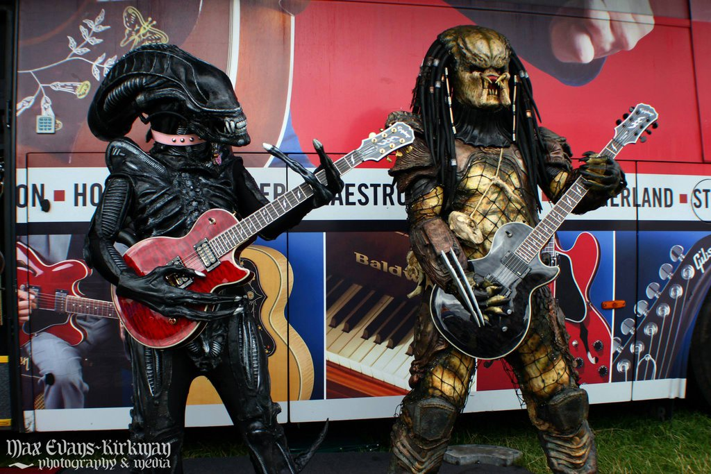 Alien vs Predator vs Guitar by PedroTpredator on DeviantArt