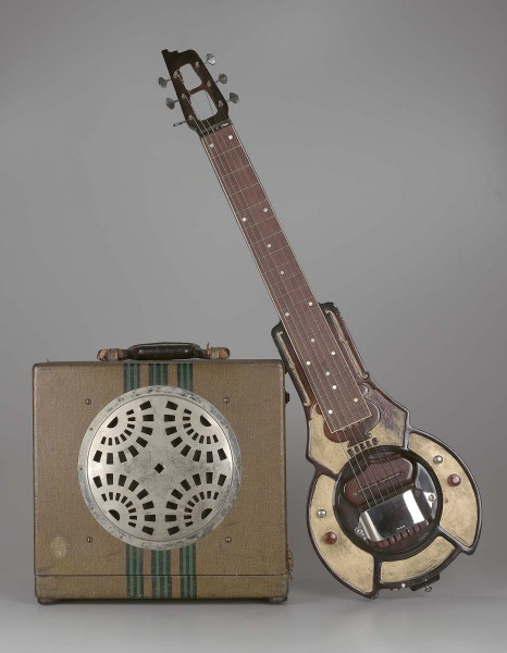 Amplifier (No. 1 Hawaiian guitar model)  about 1936. Manufactured by Dobro Company.