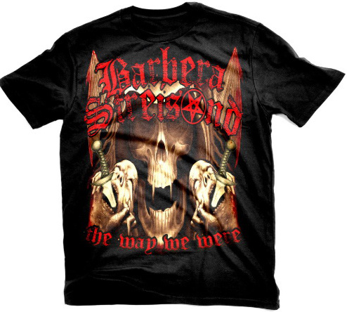Barbra Streisand Metal T-Shirt