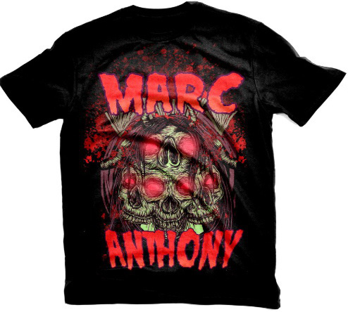 Marc Anthony Metal T-Shirt