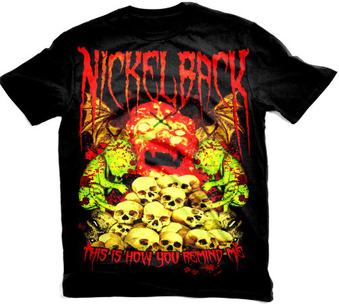 Nickleback Metal T-Shirt