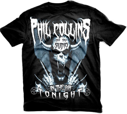 Phil Collins Metal T-Shirt