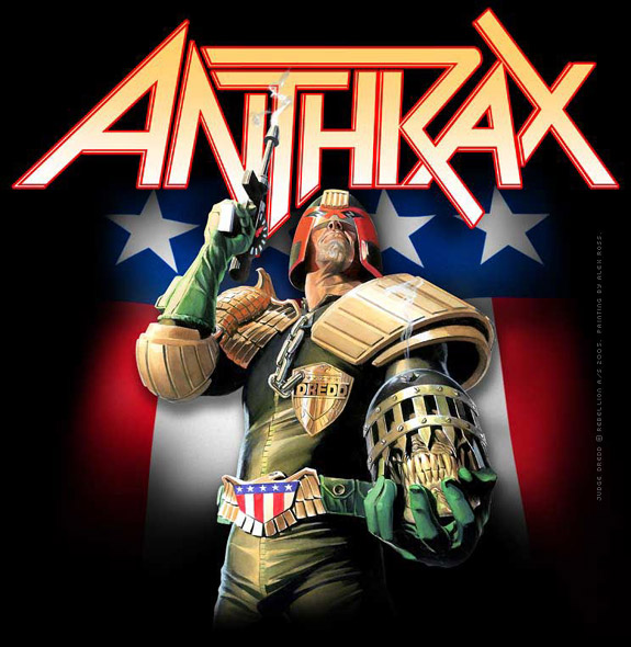Anthrax, Alex Ross