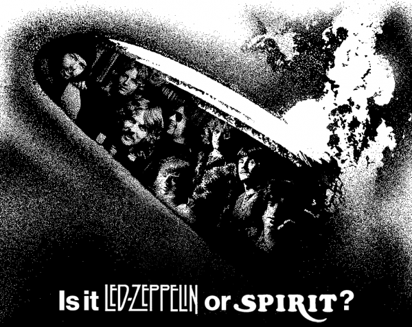 Led Zeppelin or Spirit?