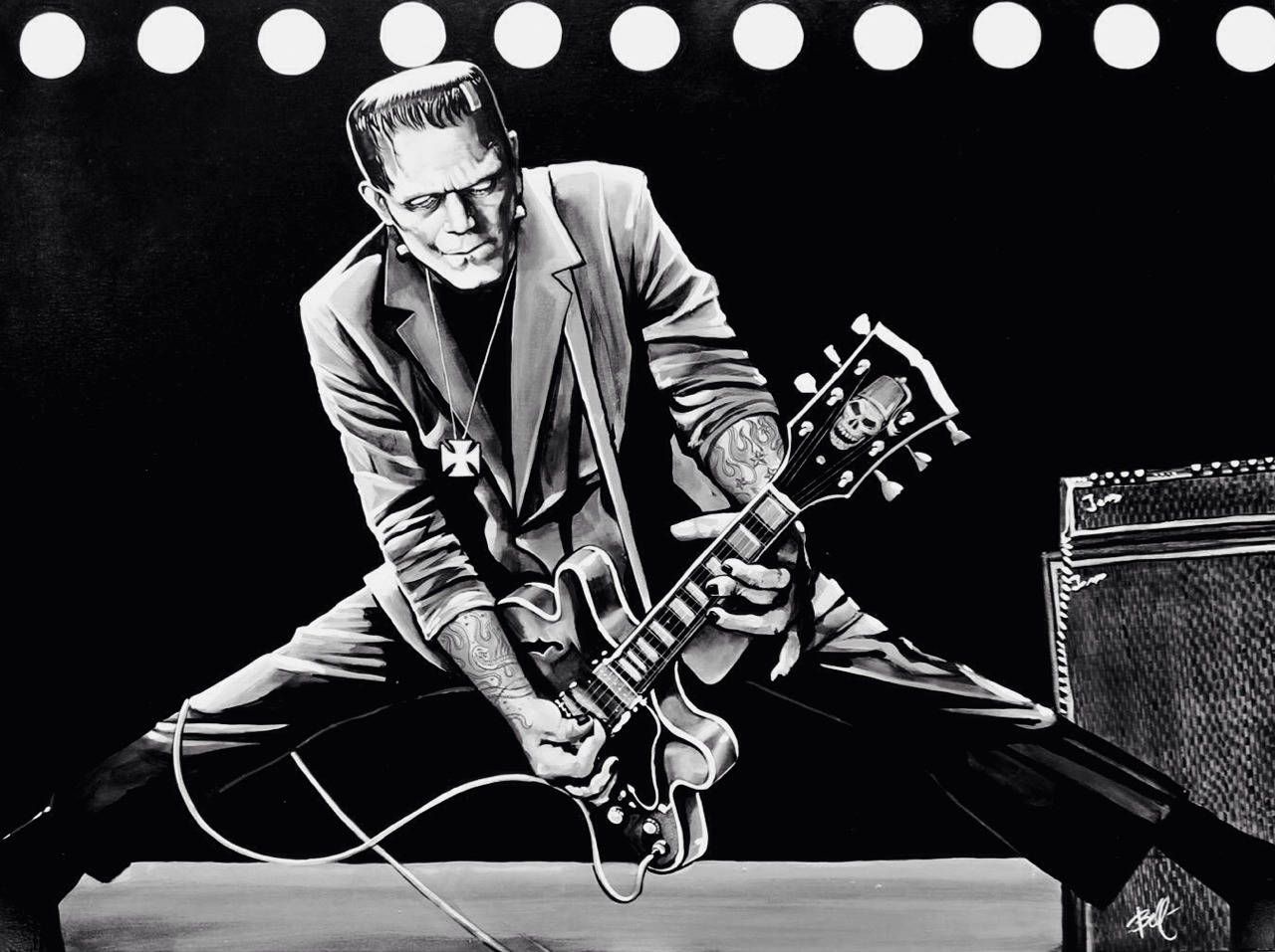 "Mike Bell ""Rock 'n' Roll Monster"""