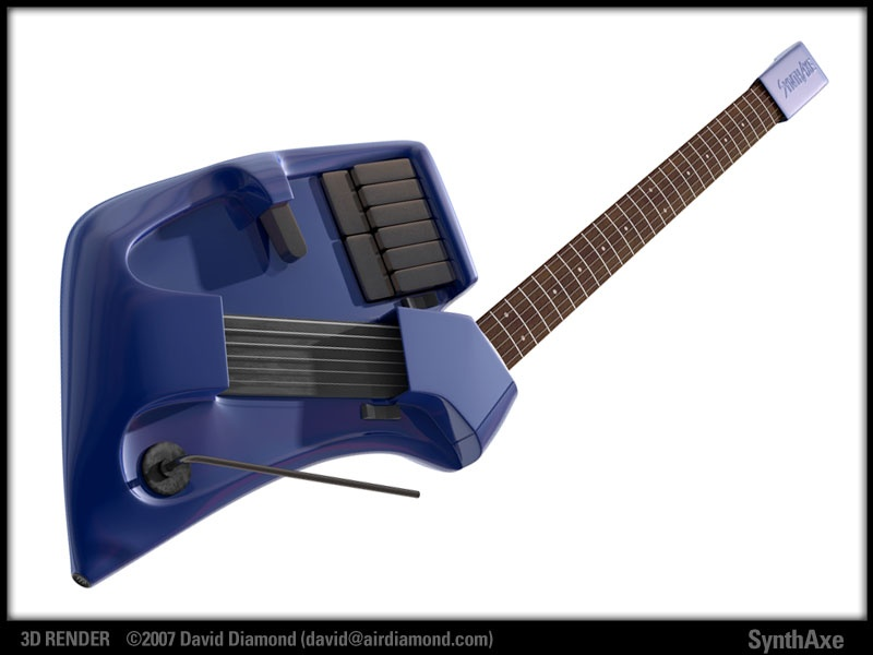 SynthAxe (3D render) David Diamond