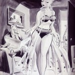 Jack Cole pin-up