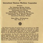 Songs of the IBM (1937)
