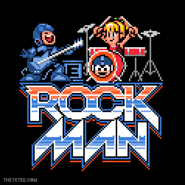 Rock, Man! by In Stank We Trust $11 on 01/16 at The Yetee