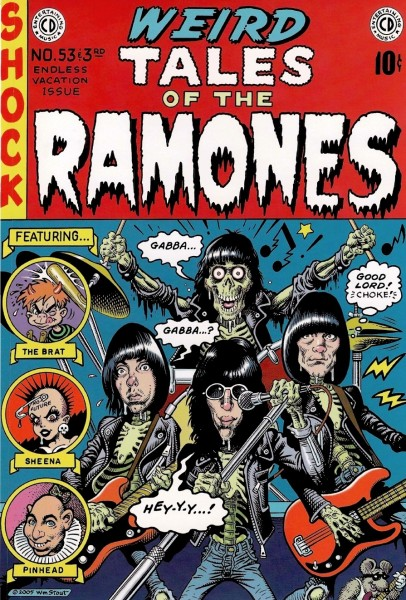 Weird Tales of the Ramones, William Stout