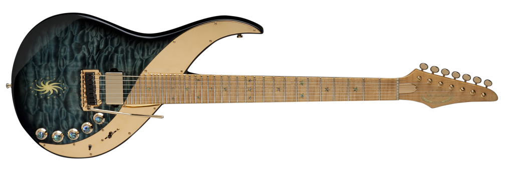 USA Uli Jon Roth 7 String - Trans Blue