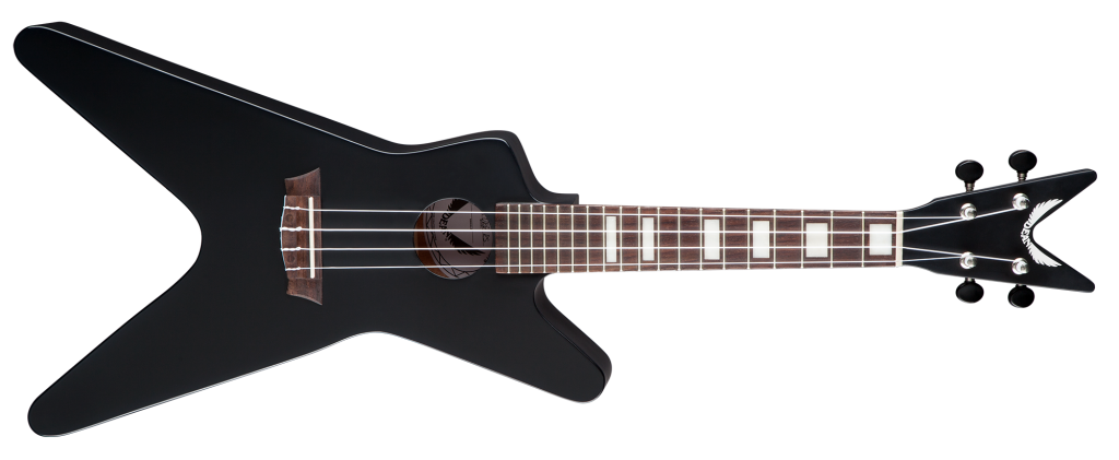 Dean Ukulele ML - Black Satin