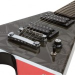 Ltd Ed Machine Head Bloodstone & Diamonds Guitar