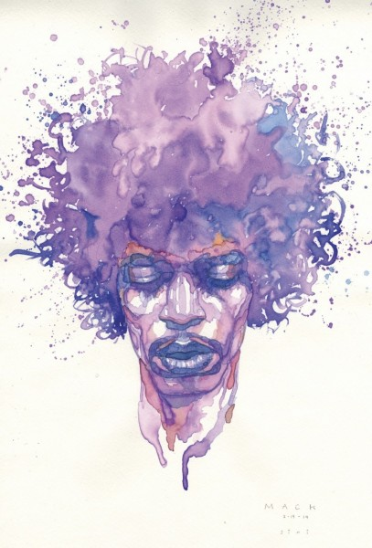 """Jimi Hendrix"", David Mack"