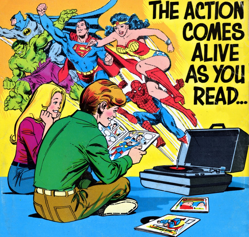 """The Action Comes Alive as You Read..."" (1978), José Luis García López"