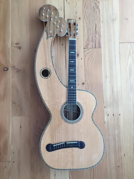 Dyer Harp Guitar Style 7