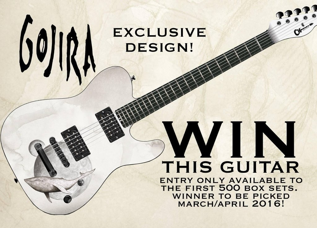 Gojira 'From Mars to Sirius' 10th anniversary guitar