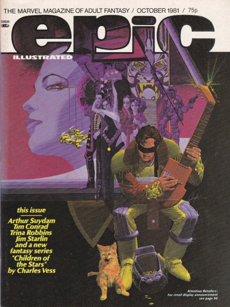 Epic Illustrated #8, Howard Chaykin