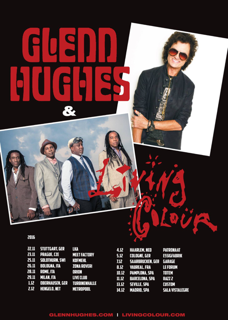 Glenn Hughes + Living Colour (2016)