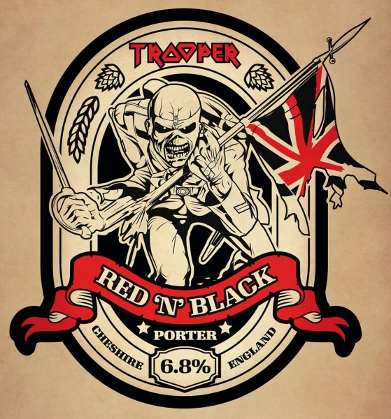 Iron Maiden: Trooper Red 'N' Black
