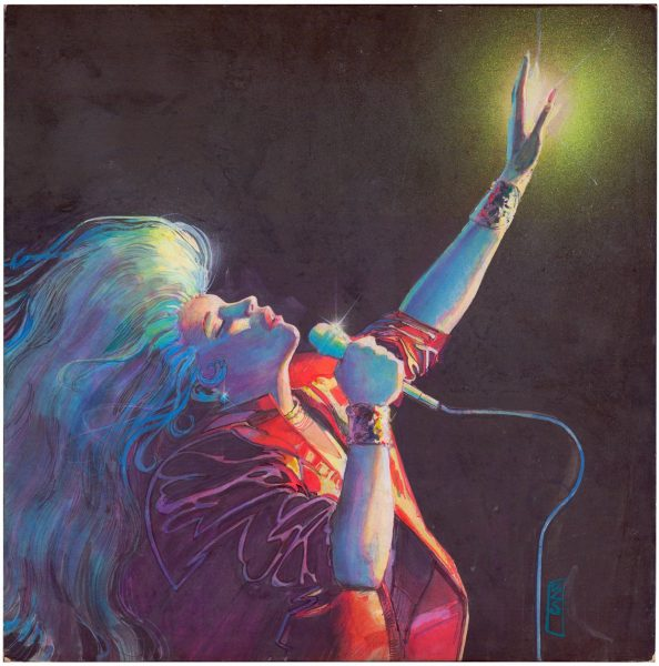 """Dazzler: Sounds of Light and Fury"", Bill Sienkiewicz"