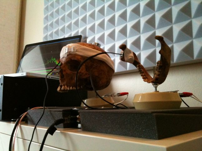 Using a human skull to create the sounds of Inside, Martin Stig Andersen