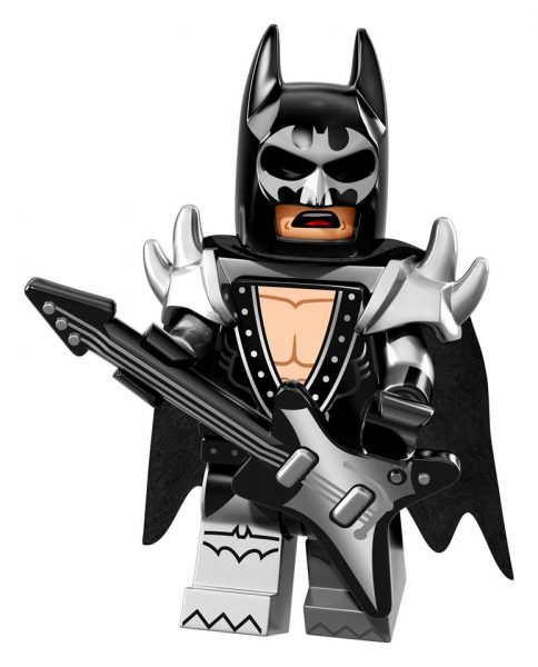 LEGO Batman Movie Collectible Minifigures: Glam Metal Batman