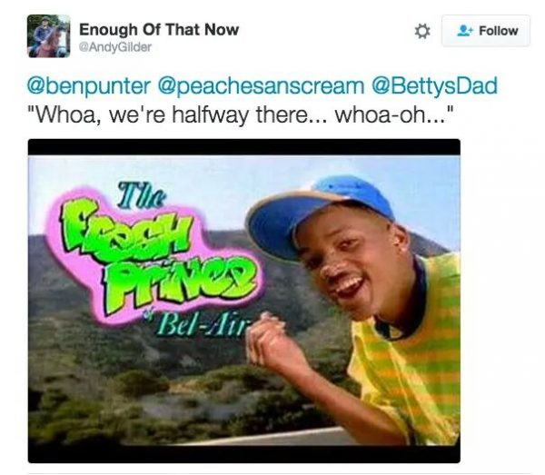 … The Fresh Prince of Bel-Air