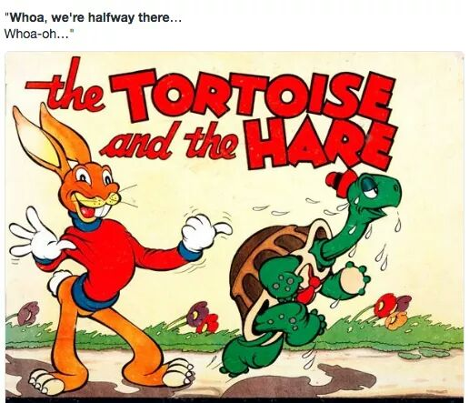 … the Tortoise and the Hare