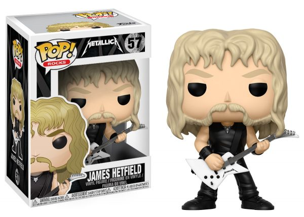 Funko POP! Rocks: James Hetfield