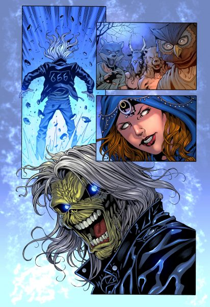 Iron Maiden: Legacy of the Beast #1 (Page 24)