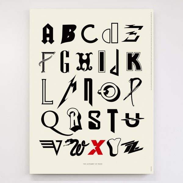 Alphabet of Rock - Original Open Edition – Dorothy