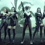 "Fotograma del trailer europeo para el videojuego ""Hitman Absolution"" titulado ""Attack of the Saints"""