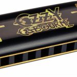 Ozzy Osbourne Hohner harmonica