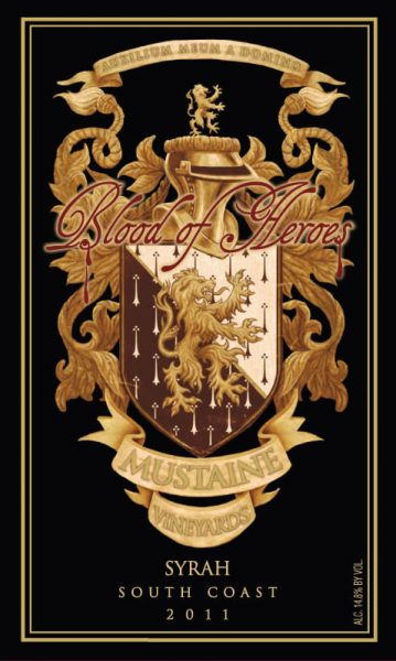 Mustaine Vineyards Blood Of Heroes