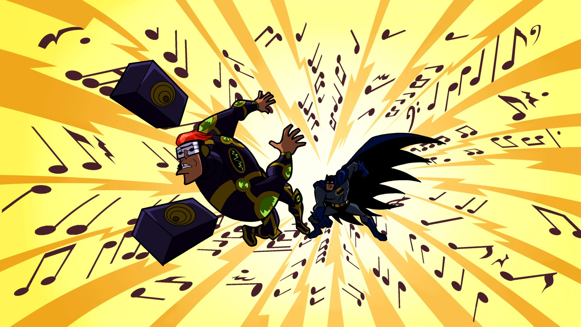 "Batman: The Brave and the Bold. Season 1 Episode 24. ""Mayhem of the Music Meister"""