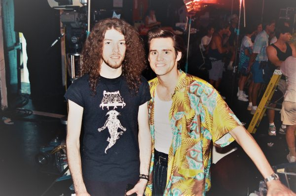 Rob Barrett & Jim Carrey. Ace Ventura: Pet Detective.