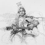 Vince Low, Simply Scribbly exhibition in Singapore, «Kurt Cobain»