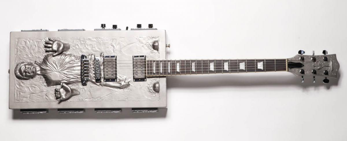 Han Solo Carbonite Guitar, Travis Stevens