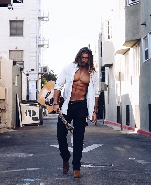 "Brock O'Hurn: ""Roamin the streets of Venice.."""