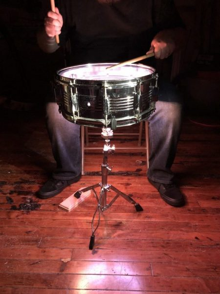 Matt Stultz. Impact Reactive Snare Drum Lights.